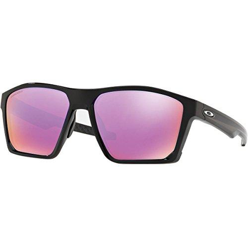 Oakley Men's Targetline Sunglasses,OS,Polished Black/Prizm - Oakley Suglasses
