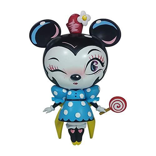 (Enesco World of Miss Mindy Presents Disney Designer Collection Minnie Mouse Vinyl Figurine, 7