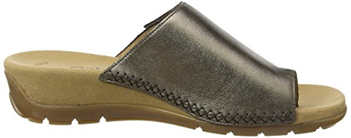 Gabor Shoes Fashion, Mules para Mujer Gris (a`silber 41)