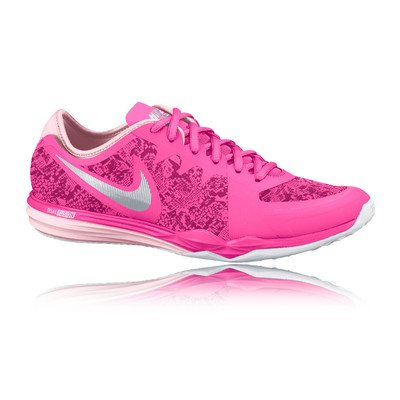 40a7ee09b862 Nike Womens Dual Fusion TR 3 Print Running Trainers 704941 Sneakers Shoes  (US 7.5