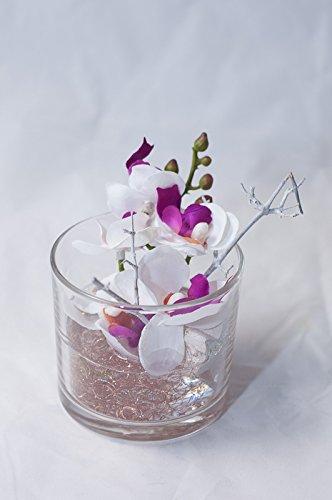 Centrotavola Natalizi Amazon.Centrotavola Natalizio Con Orchidee Arredamento Floreale Con Fiori