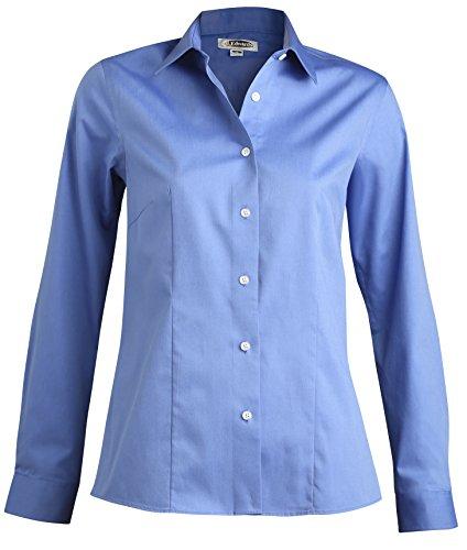 Averill's Sharper Uniforms Women's Ladies No-Iron Server Blouse Small(6-8) French-Blue ()