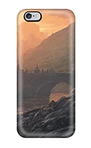 Iphone 6 Plus Case Cover - Slim Fit Tpu Protector Shock Absorbent Case (landscape)