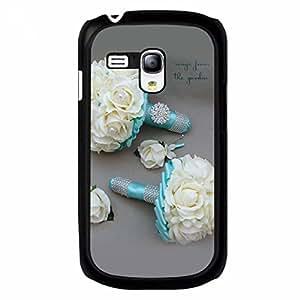 Tiffany Samsung Galaxy S3 MINI Case,Tiffany Phone Case Black Hard Plastic Case Cover For Samsung Galaxy S3 MINI