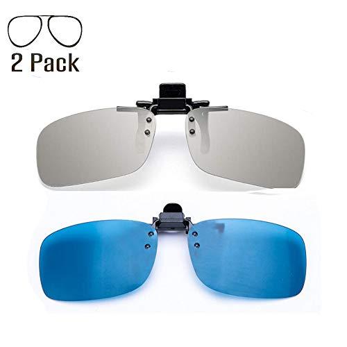 YEK Polarized Clip on 3D Glasses for RealD & IMAX3D Unisex Adult 2 ()