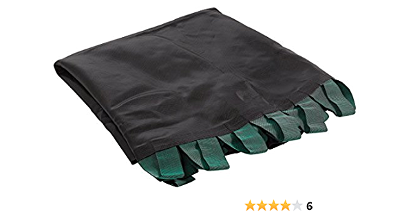 Supports Up to 330 lbs. Replacement Mat for Trampoline Workout Gymnastics Jumping Mat Round Flat-Tube Trampoline Frame Upper Bounce Replacement Jumping Mat with Bands