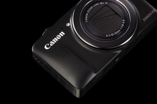 Canon PowerShot SX600 HS 16MP Digital Camera (Black)