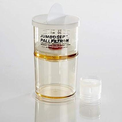 300K MWCO Pore Size PES Membrane PALL OD300C65 Jumbosep Centrifugal Filter Pack of 12