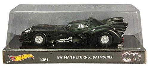 Hot Wheels Heritage Batman Returns Batmobile (1:24 Scale)