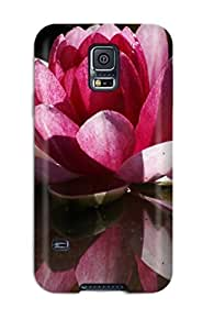 Sanp On Case Cover Protector For Galaxy S5 (lotus Flower)