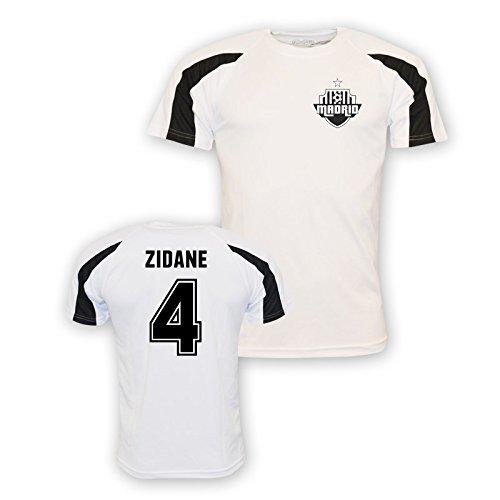 Zinedine Zidane Real Madrid Sports Training Jersey (white) Kids B01M0Q62K5White MB (7-8 Years)