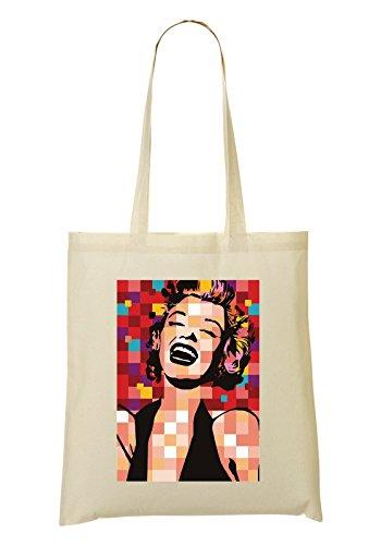 LukeTee Marilyn Monroe Pop Bolso De Mano Bolsa De La Compra