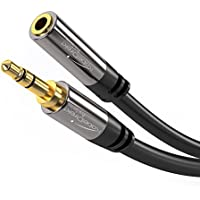 KabelDirekt (25 feet) 3.5mm Male > 3.5mm Female Stereo Audio Extension Cable - PRO Series