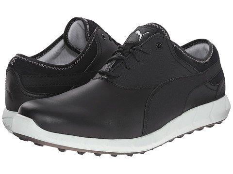 (プーマ) PUMA メンズゴルフシューズ靴 Ignite Golf Black/Glacier Gray 7.5 25.5cm D - Medium [並行輸入品] B06XK84Z8Y