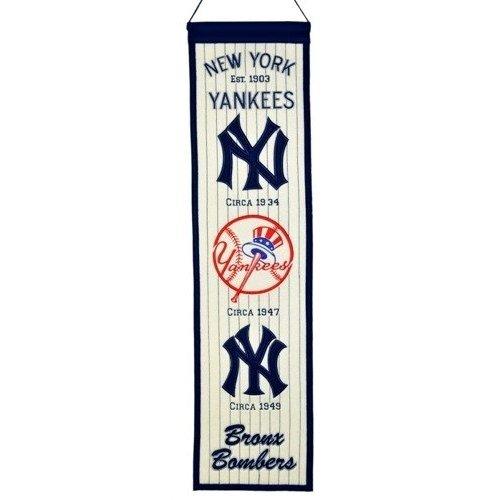 New York Yankees Heritage Wool Banner Pennant