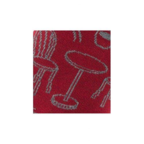 modello Achile in Bistrot rosso cotone Calze 7YBpnY