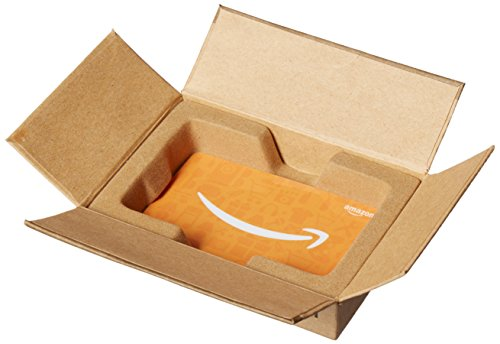 Amazon.com $200 Gift Card in a Mini Amazon Shipping Box (Amazon Icons Card Design) ()