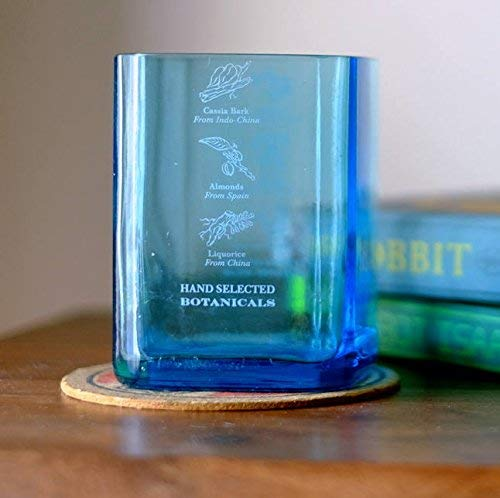 Bombay Sapphire Gin Rocks Glasses - Made from Recycled Bottles
