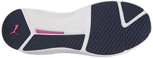 Cruzado para Chaqueta para Puma Mujer de Entrenamiento Zapatos Mujeres Fiereza Puma Evoknit Blanco de AwwWn8qFza