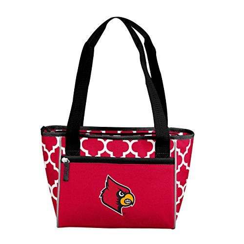 NCAA Louisville Cardinals 16 Cooler Can Tote, Red, One Size