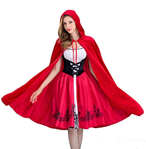 Tutu Dreams Women Little Red Riding Hood Costume Halloween Masquerade Party -