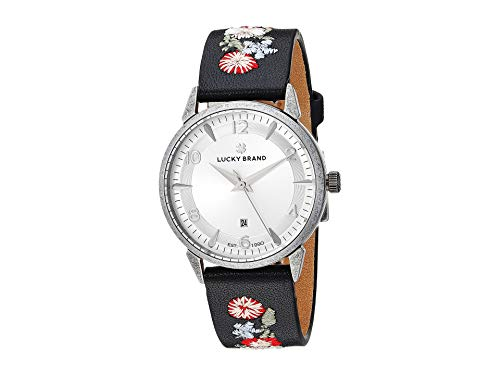 Lucky Brand Women's Torrey LW00143 Embroidered/Silver One Size (Lucky Brand Watches For Women)