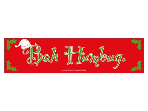 Bah Humbug (Bumper Sticker)