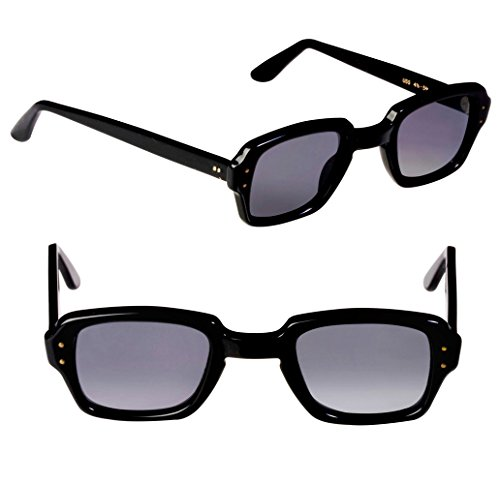 U.S. Military Sunglasses 60s, made in USA. Original Vintage Sunglasses Men and Women, Black Polarized Sunglasses, Vintage Military ()