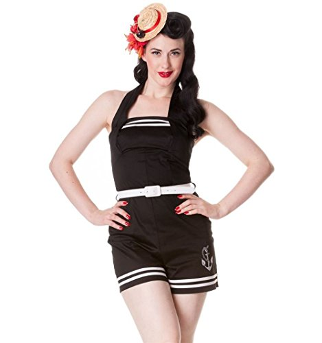 Hell-Bunny-Anchored-Black-Playsuit-Romper
