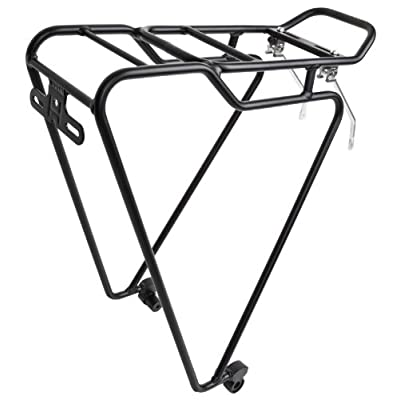 "SUNLITE QR-Tec Rear Rack, 26""/700c, Black : Bike Racks : Sports & Outdoors"