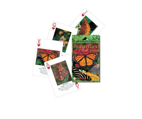 Photographic Cards Puzzle - Impact Photographics IMP193PLY Playing Cards Butterflies