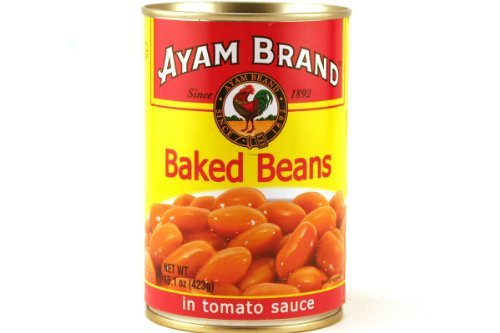 Baked Beans in Tomatoes Sauce - 8oz [Pack of 6] by Ayam