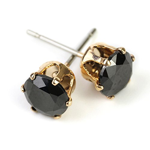 CHOP MALL Black Crystal Stones Bling Bling Gem Stud - Mall Directions Crystal