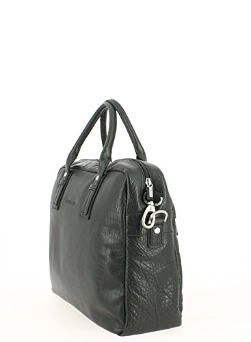 Arthur&Aston - Bolso estilo cartera para mujer negro negro 38.0 (H) x 27.0 (L) x 10.0 (E) cm