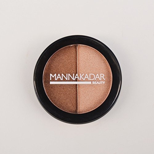 Radiance Bronzer and Highlighter by Manna Kadar Cosmetics - Exclusive Highlighting Blush / Duo
