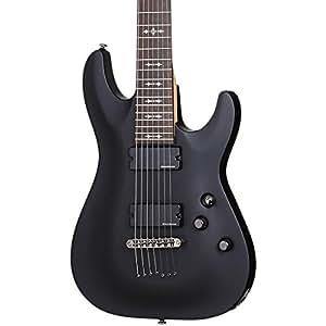 schecter demon 7 7 string electric guitar musical instruments. Black Bedroom Furniture Sets. Home Design Ideas