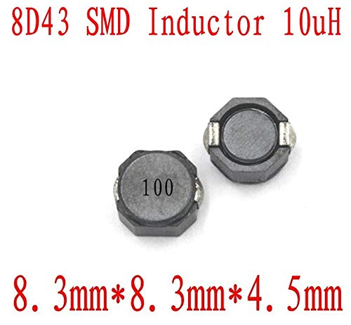 Maslin New SMD Inductors 8D43 10UH Chip Inductor 884.5mm CDRH 8D43 10 uh Shielding Power inductance 500 PCS