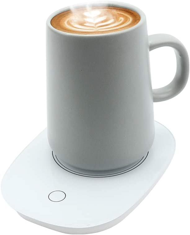 VIGIND Coffee Cup Warmer, Coffee Cup Warmer for Desk Auto Shut Off 16 Watt Electric beverage Cup Warmer,Maintains temperatures up to 131°F / 55°C,Mug Cup Warmer for Desk for Safely Use for Office/Home