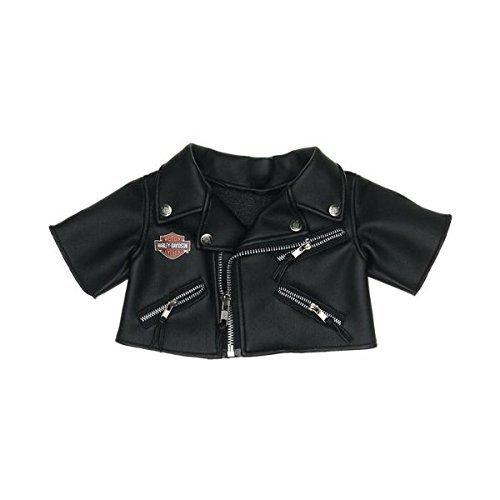 Build a Bear Workshop Harley-Davidson Motorcycles® Black Jacket Teddy Bear Clothing