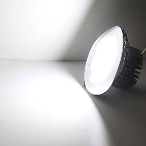 QIZIANG 12W LED Down Down Down Light Deckeneinbauleuchte Dimmable 220V  Driver Hot (Farbe   Warm Weiß) B07KV9BJFC | Große Klassifizierung  2f053b