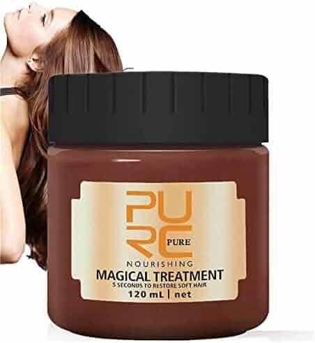 PURC Magical Treatment 120ML,2019 Advanced Molecular Hair Roots Treatment 5 Seconds Repairs Damage Hair Root Hair Tonic Keratin Hair & Scalp Treatment