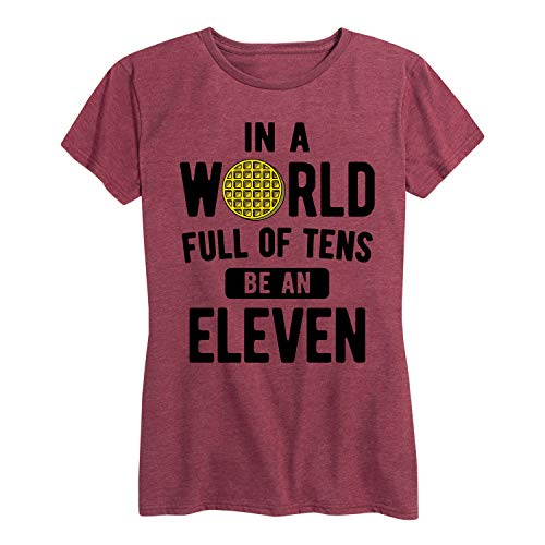 in A World of Tens be an Eleven - Ladies Short Sleeve Classic Fit Tee ()