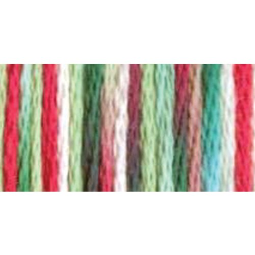 DMC 415 5-4042 Color Variations Pearl Cotton Thread, 27 yd, Size 5, Very Merry