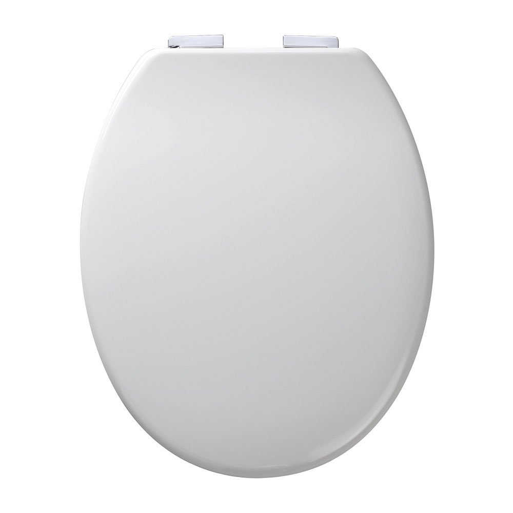Roper Rhodes Traditional Soft Close Toilet Seat Solid Mahogany - Soft close wooden toilet seat