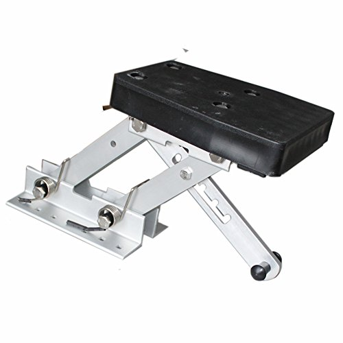 X-Haibei Heavy Duty Marine Outboard 2 Stroke Kicker Motor Bracket Up to 20HP Aluminium