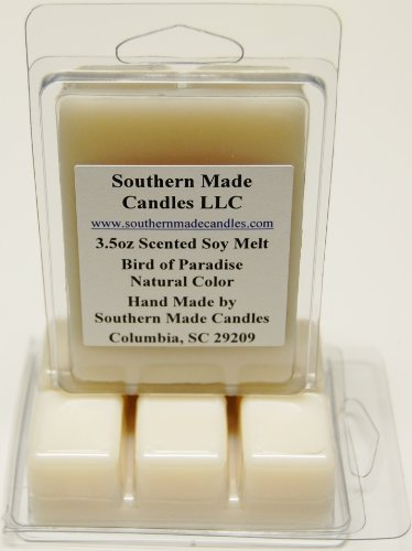 2 Pack 3.5 oz Scented Soy Wax Candle Melts Tarts - Bird of Paradise - Paradise Wax Candle