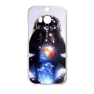 HTC One M8 Case , Star Wars Darth Vader HTC One M8 Case White-PLKS0982101