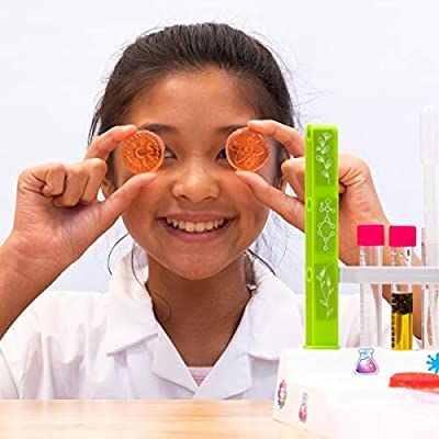 Thames & Kosmos Ooze Labs: Soap & Bath Bomb Lab Science Experiment Kit & Lab Setup, 10 Experiments in Cosmetology & Biology of Skin Care | A Parents' Choice Recommended Award Winner: Toys & Games