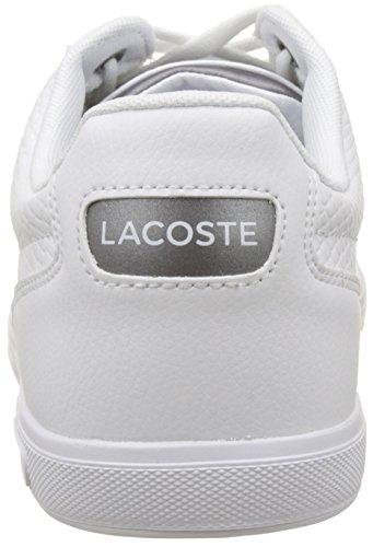 Lacoste Europa, Sneaker Uomo Bianco (Wht)
