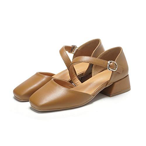 Manera Tamaño de la A Europeo de 45 Mujeres del Zapatos los 40 los con cómodos FLYRCX Las la Zapatos de Oficina Zapatos Ocasional Ocasionales de talón 4n1YqvxP